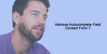 Address Autocomplete Field Contact Form 7